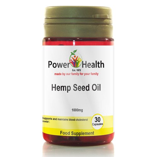 Hemp Seed Oil Capsules 1000mg - 90 Capsules
